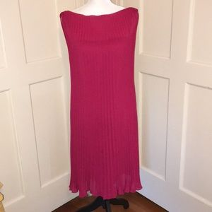 ⚡️3/$25 - Red Pleated Cocktail Dress